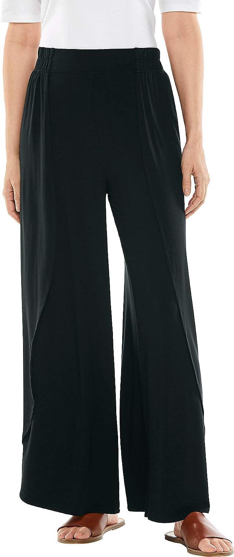 Coolibar UPF 50+ Women's Lynsu Wide Leg Pants - Sun Protective