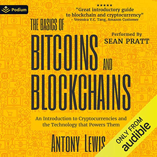 Page de couverture de The Basics of Bitcoins and Blockchains