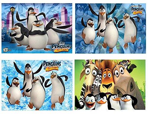 Juego 4Espacio Juego Pingüinos de Madagascar