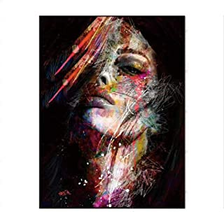BoLian Oil Women Painting Modern Art Painted by Hand on Canvas Stretched Ready to Hang Wall Decoration