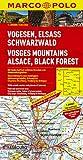 MARCO POLO Karte Vogesen, Elsass, Schwarzwald 1:200.000 (MARCO POLO Karten 1:200.000)