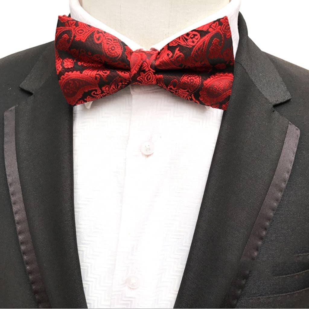 YFQHDD Men's Bow Tie Gold Bowtie Spring In a popularity new work Business Bl Bowknot Wedding Dot