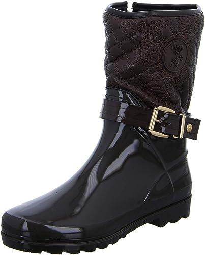Gosch chaussures Sylt - Bottes en Caoutchouc Caoutchouc Caoutchouc Femmes doublé 7102-503-9 Noir - DKL.marron, 38 EU ee9