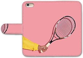 【 iris 】 手帳型ケース 全機種対応 【 Optimus G pro L-04E オプティマス G pro L-04E専用 】 テニス Tennis スポーツ ボール チームメイト プレゼント 人気かっこいい ブック型 二つ折り レザー 手帳カバー スマホケース スマートフォン