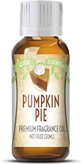 Pumpkin Pie Scented Oil by Good Essential (Huge 1oz Bottle - Premium Grade Fragrance Oil) - Perfect for Aromatherapy, Soaps, Candles, Slime, Lotions, and More!