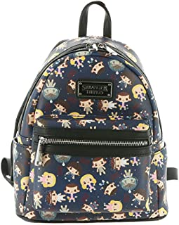 Loungefly x Stranger Things Eleven All-Over Print Mini Backpack