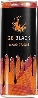 28 Black Blood Orange Energy Drink 24 x 0,25 ltr. inkl. 6€ DPG EINWEG Pfand
