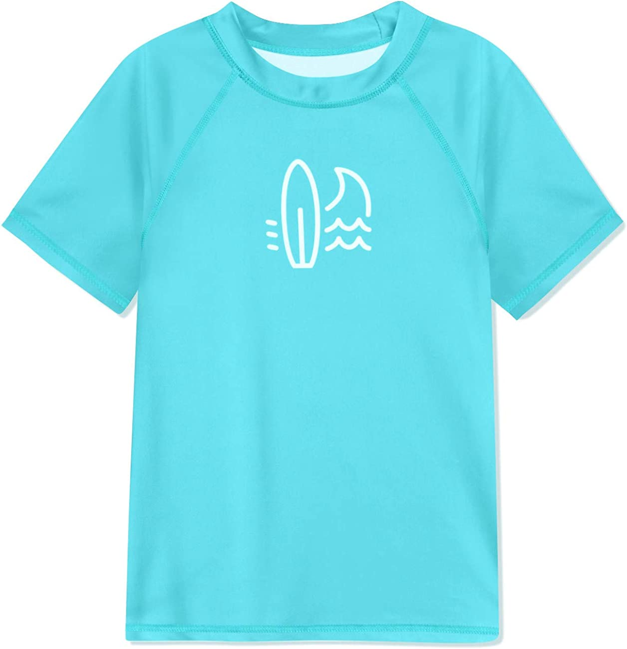 BesserBay Boy's UPF 50+ Sun Protection S Guard Short Ranking TOP10 Rash Clearance SALE! Limited time! Sleeve