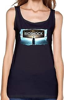 WushXiao Bioshock Shirts Tank Top Casual Tees Summer Sleeveless Cotton