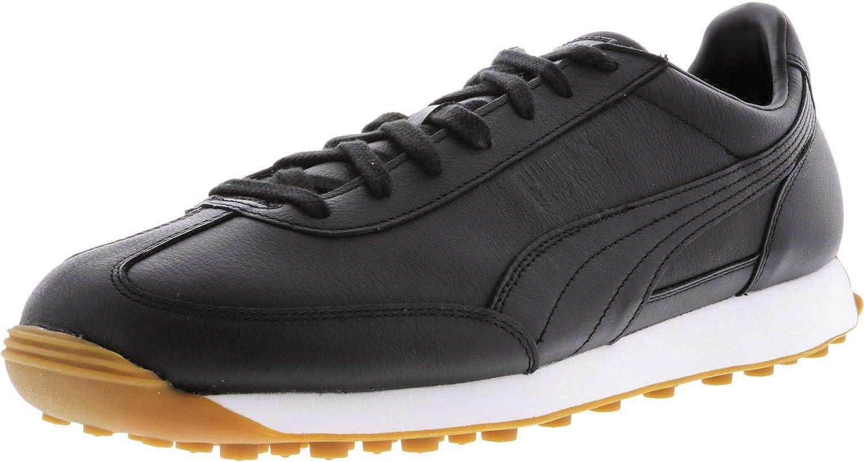 Puma Men's Easy Rider Premium Ankle-High Leather Fashion Sneaker