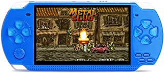 JP-DPP9 Handheld Game Console 8GB 4.3inch Screen 500 Classic Games Video Game Console Christmas Birthday Presents for Children Toys Gift