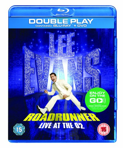 [UK-Import]Lee Evans Roadrunner Live at The O2 Double Play Blu Ray & DVD