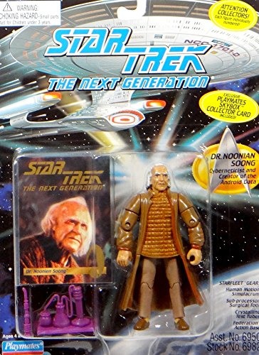 Vintage 1995 Star Trek the Next Generation Space the Final Frontier Dr Noonian Soong
