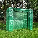 WMQ Kit de Invernadero portátil para Invernadero, casa Caliente de Plantas para Exteriores, Interior-Verde