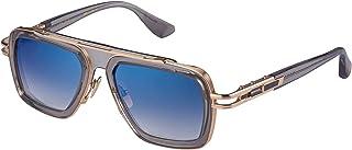 DITA - Gafas de Sol LXN-EVO Transparent Grey White Gold/Dark Grey To 54/19/145 unisex