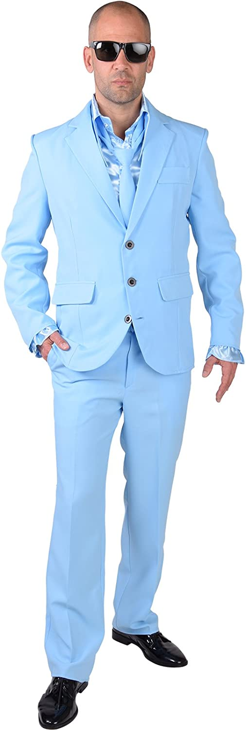Stag Night Suit  bluee  XL 46 48