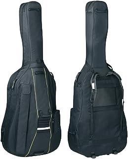 Pure Gewa PS241000 - Funda para contrabajo Classic CS 25 negro para tamaño 4/4