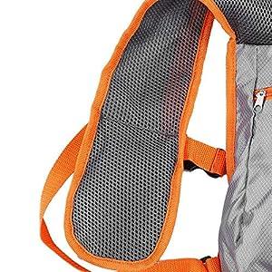 61f1nvTAveL. SS300  - Alomejor Mochila para Correr Chaleco Nylon Teléfono Celular Duradero y Accesorios Titular Bolsa de Ciclismo Liviana para Carreras de Maratón