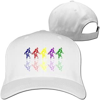 Colorful Bigfoot Baseball Hats By Cnlowter