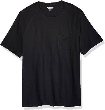 Amazon Essentials Men's Regular-fit Slub Raglan Crew T-Shirt