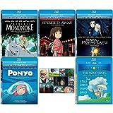 The Continued Success Blu-ray Collection: Written & Directed by Hayao Miyazaki (Princess Mononoke / Spirited Away / Howl's Moving Castle / Ponyo / The Wind Rises) + Bonus Art Card