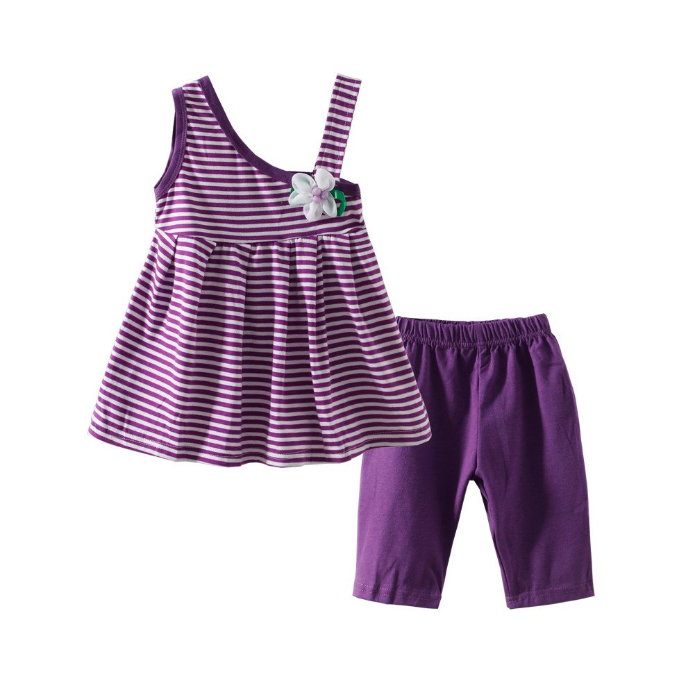 Mud Kingdom Little Girls Outfits Floral Dress and Legging Clothes Sets Holiday