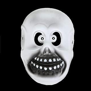 QYLOZ Funny Face Mask Halloween Mask Pumpkin Head Maks Cosplay Horror Prop (Color : D)