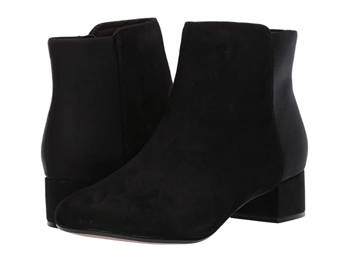 Clarks  Chartli Valley (Black Combo Suede) Womens  Boots