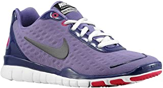 Women's Free TR Fit 2 Training Shoe Sneakers (10, PURPLE/GREY/WHITE/RED)