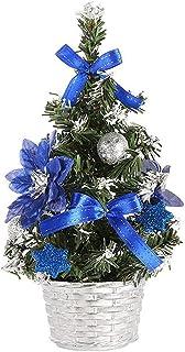 aipipl Arbre de Noël DIY Ornements Mini Arbre de Noël Décorations de Table artificielles de Noël Festival Arbre Miniature ...