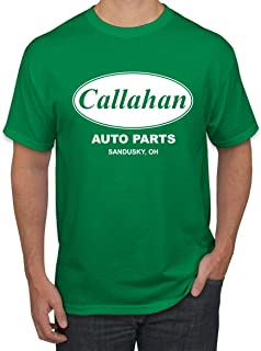 Wild Bobby Callahan Auto Parts Sandusky Ohio Retro 90s Funny Tommy Boy | Mens Pop Culture Graphic T-Shirt