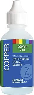 Sponsored Ad - Taste N' Score Liquid Ionic Copper Supplement; 100% Pure; 2 mg; 177 Servings