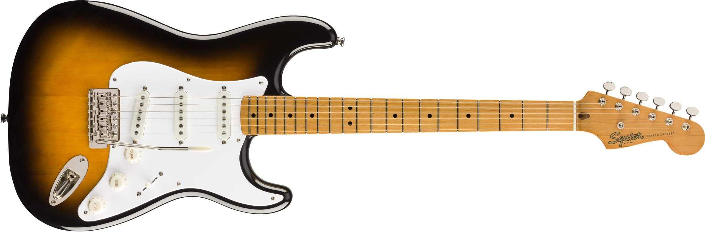 Squier Classic Vibe 50's Stratocaster - Maple Fingerboard - 2-Color Sunburst
