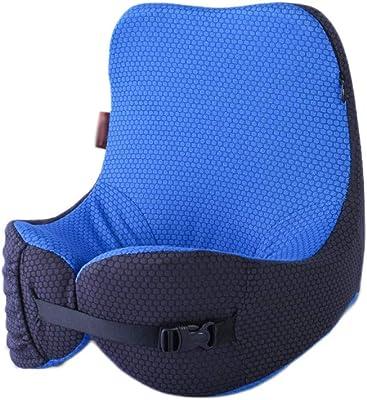 Inflatable Travel Pillow Pillow Neck Pillow Portable Travel Neck Pillow Memory Cotton Head Pillow Neck Pillow Hump U-shaped Neck and Neck Travel Equipment ( Color : Blue , Size : 252630cm )