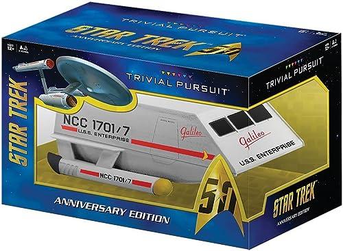 artículos de promoción TRIVIAL PURSUIT Star Trek 50th Anniversary Edition Game by USAopoly USAopoly USAopoly  Mejor precio