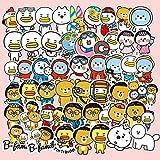 TTBH 53 Pegatinas japonesas y Coreanas Bonitas para Maletas, decoración de Maletas, Personalidad Creativa, Pegatinas...