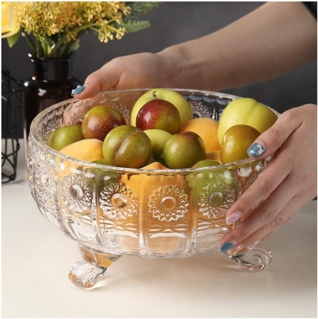 Cake Stand Sales New product type Party Tray Salad Bowl Crystal Glass Pl Fruit European