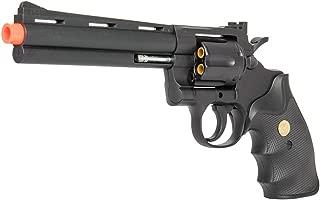 UKARMS G36B Spring Airsoft Magnum Revolver Replica w/ Shells + 6mm BBs (Black)
