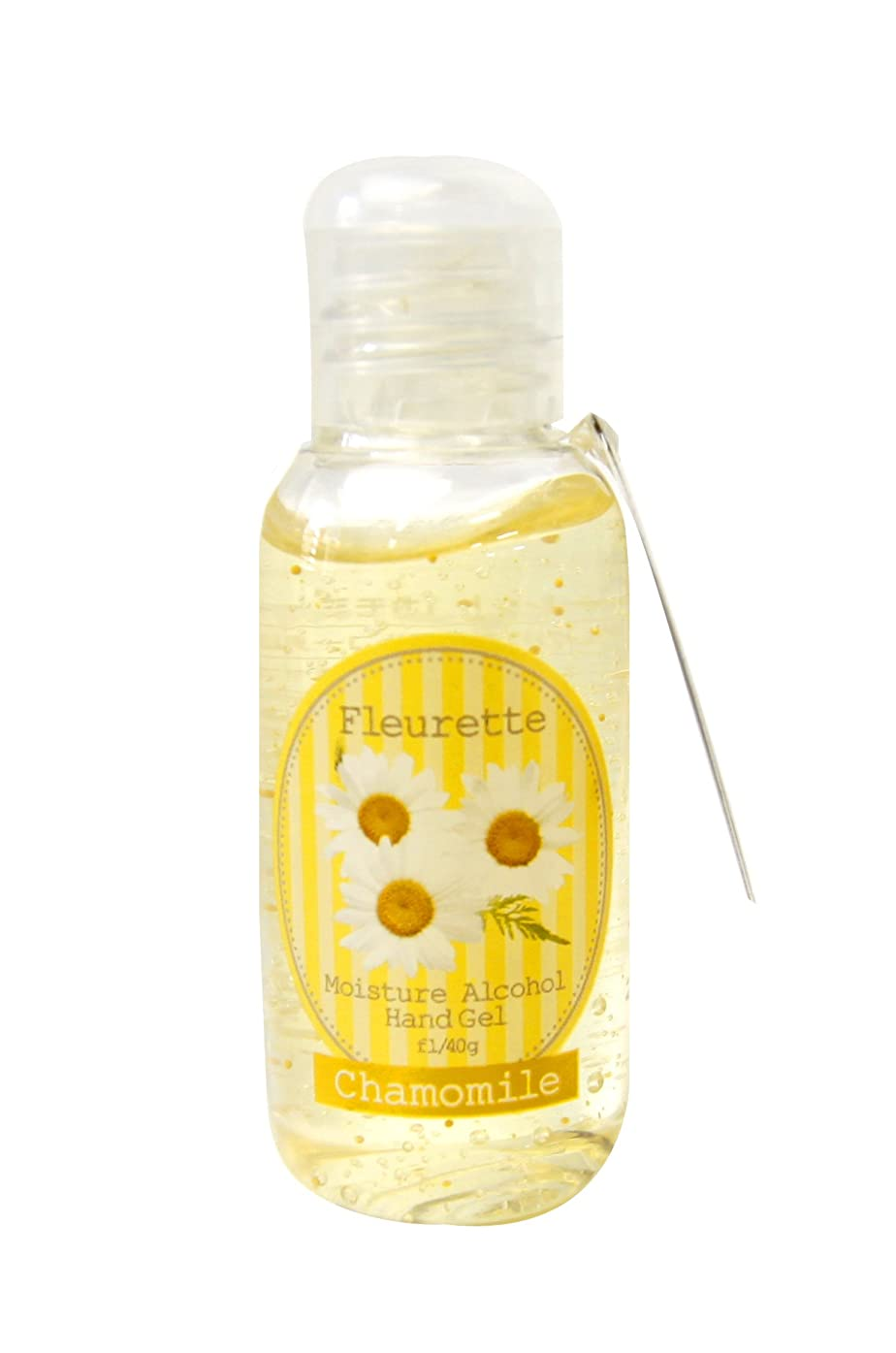 無限大窓を洗う医薬フルーレット アルコールハンドジェル 40g カモミール