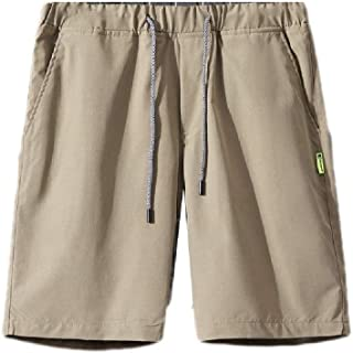 neveraway Men Active Relaxed-Fit Drawstring Summer Beach Shorts with Pockets