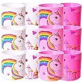 TE-Trend 12 unidades de espiral arcoíris para escaleras en espiral, juguete para niños, regalo de cumpleaños, multicolor