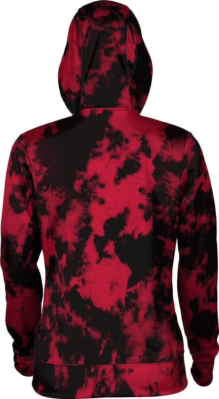 San Diego State University Girls' Pullover Hoodie, School Spirit Sweatshirt (Grunge)