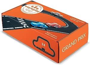 waytoplay Grand Prix Flexible Race Track Toy Road Set 24 Pieces, Green