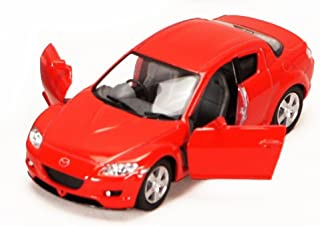 Mazda RX-8, Red - Kinsmart 5071D - 1/36 scale Diecast Model Toy Car (Brand New, but NO BOX)