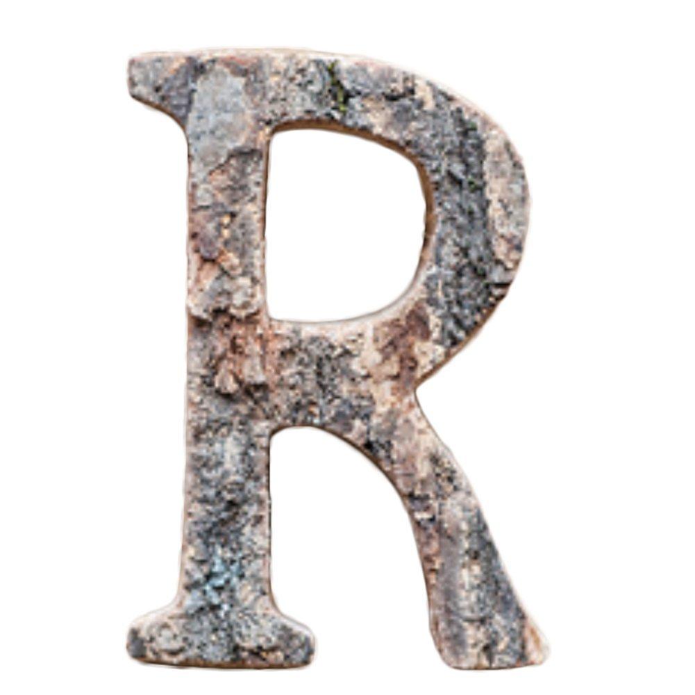 Leisial 100 Piezas de Madera Capital Scrabble Azulejos Alfabeto Letras Números para Manualidades Joyas Hacer Artes DIY Decoración Pantallas, Madera, R, 10 cm: Amazon.es: Hogar
