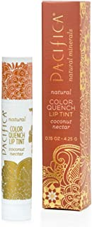 Pacifica Perfumes Inc, Natural Color Quench Lip Tint, Coconut Nectar, 0.15 oz (4.25 g)