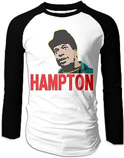 Mens FRED HAMPTON T-Shirts Long Sleeve Shirts Black