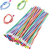 TecUnite 60 Pieces Flexible Bendy Soft Pencils...