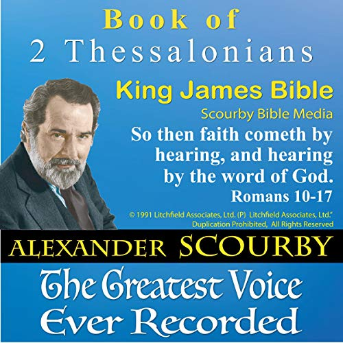 Book of II Thessalonians, King James Bible cover art
