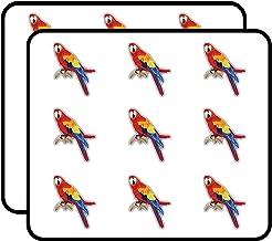 HomePhoneComputerLaptopCar Bumper Sticker Decal Perched Parrot